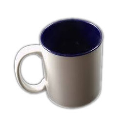 Two Tone Blue Mugs
