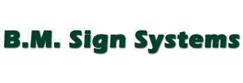 B.m. Sign Systems
