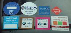 Car Parking Sticker