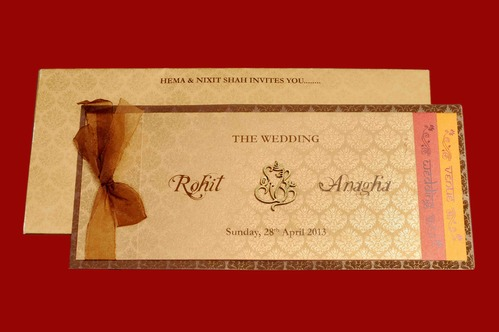 Indian Wedding Card Matter P  Matik