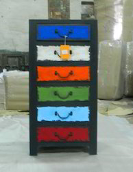 Retro Painted Drawer Chest