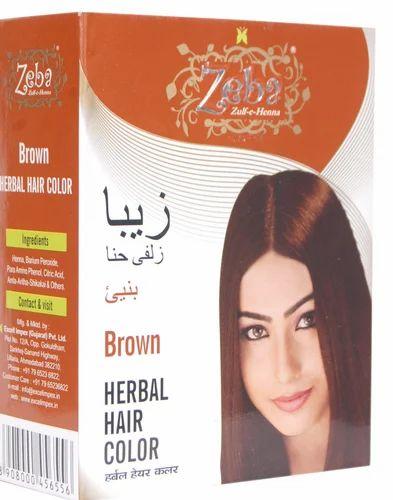 Brown Herbal Hair Color
