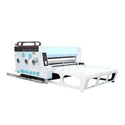 Double Color Semi Auto Printer Slotter