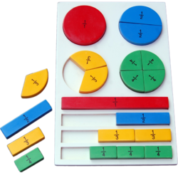 Wooden Fraction Board