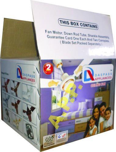 Ceiling fan box ceiling fan packaging box manufacturer from delhi ceiling fan packaging box mozeypictures Images