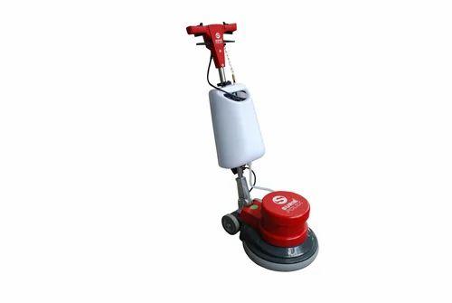 Housekeeping Related Single Disc Floor Scrubbing