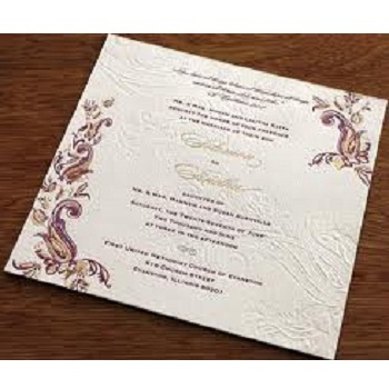 Invitation Cards Personal Invitation Card Service Provider from Beawar
