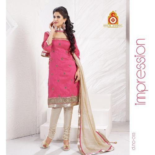 Casual Party Wear Churidaar  Suits