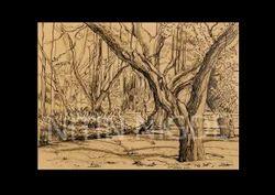 landscape prints paintings