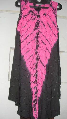 Long Stylish Ladies Rayon Sundress