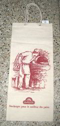Bakery Printed Calico Bag