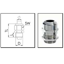 ATEX Cable Glands, Metric