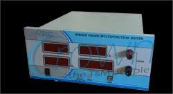 Single Phase Digital Multifunction Meter