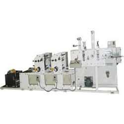 Automatic Horizontal Flexographic Printing Machine