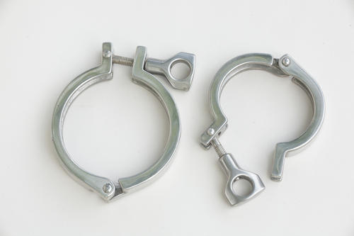 Stainless steel tri clover clamp ss dairy triclover clamps ss tc