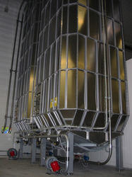 Stainless Steel Storage Silos