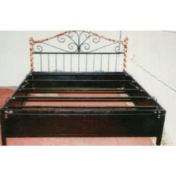 Powder Coated Steel Storage Bed