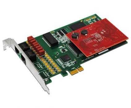 Allo 2 Port PRI Card+ EC (PCI & Pcie)