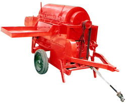 paddy thresher tractor operated