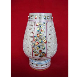 Marble Candle Stand Jaali