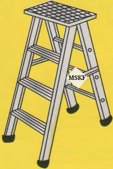 Aluminium Self Supporting Ladder