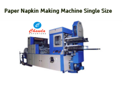 automatic paper napkin machine single size