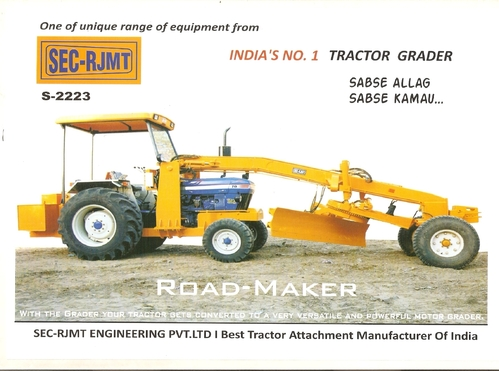 Graders Tractor Grader S2223 Manufacturer From Lucknow