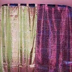 Block Printed Curtain