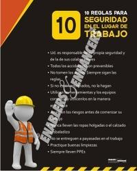 Safety Posters in Spanish Poster