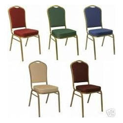 Padded Banquet Chairs banquet chairs. red padded banquet chair hire. tiffany aluminium