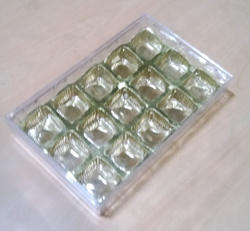 Small Diamond Box With 15 PC Inner