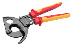 insulated vde ratchet cable cutter