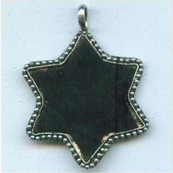 Star Leather Pendant