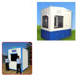 Portable Security Cabins for Security Guard