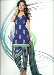 Kameez Multicoloured Salwar And Leopard Print