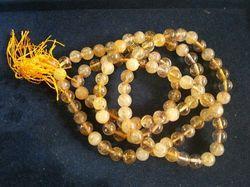 Natural Citrin 109 Beads Mala