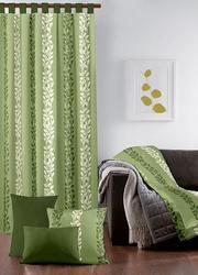 Line Flower Designed Curtain