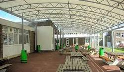College Canteen Roofing Shed