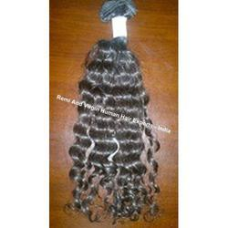 Single Drawn Remy Wavy Human Hairs