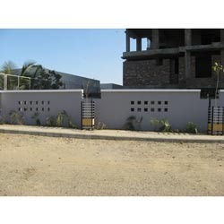 Concrete Compound Walls