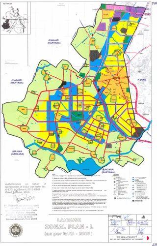 Master Plan 2021 Najafgarh