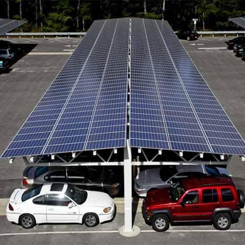 Solar Carport Structure Gurpreet Galvanising Pvt Ltd