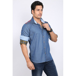 Mens Fitted Cotton Shirts