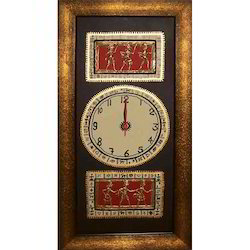 Warli Art Wall Clock
