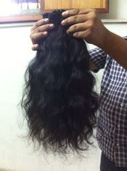 Indian Hair Wavy Machine Weft