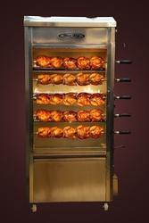 Gas Operated Chicken Griller