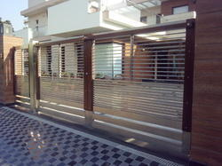 Steel Gate Fabrication Services