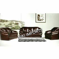 Modern Design Leather Sofa Set - Leather