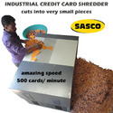 Industrial Credit Card Shredder