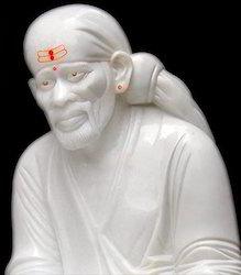 Marble Sai Baba Statue White